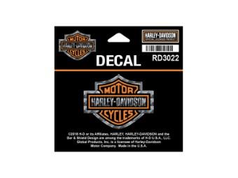 "Sticker / Decall ""Bar & Shield"" Refractive RD3022"