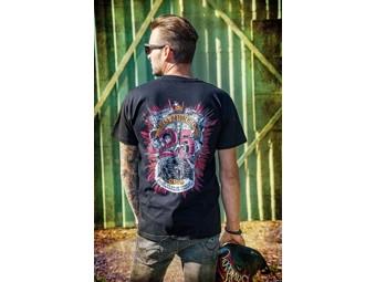 "Ricks Biker Tee ""25 J. Anniversary"" T-Shirt Harley Davidson Motorrad 33-AW2019"