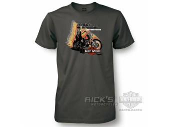 Ricks Harley-Davidson Baden-Baden Dealer-Shirt 30294648 Dark Grey