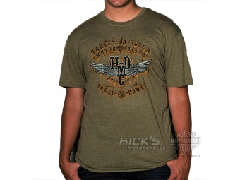"Ricks Harley-Davidson Baden-Baden Dealer-Shirt ""RUSTED"" 30294665"