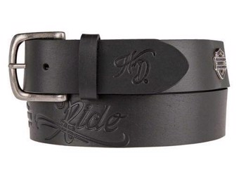 "Ricks Harley-Davidson Women's Leather Belt ""Belt Brandy"" HDWBT11201"