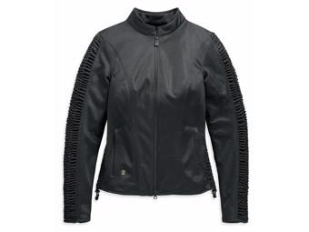 Harley Davidson Women's Motorcycle Jacket Ozello Mesh 98164-20EW Black