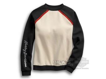 """Damen Sweatshirt """"METALLIC COLORBLOCK"""" 96393-19VW"""