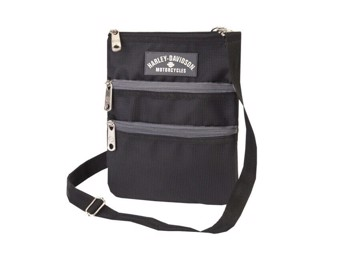 "Ricks Harley-Davidson Damen Umhängeatsche ""Cross Body Dragon"" A99616-BL"
