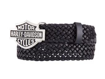 Ladies Belt -STAGE BLACK- HDWBT11535 Black Belt