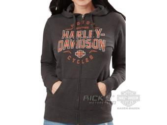 "Ricks Harley-Davidson Dealer Damen ""Hoodie in The Barn"" 5P0E-HH5N"