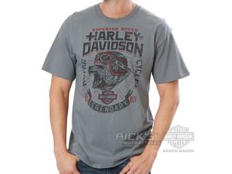 "Ricks Harley-Davidson ""Defiant Rangers"" Dealer Men's T-Shirt 5L33-HH37 Tee"