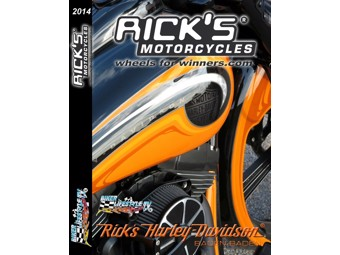 Ricks Harley-Davidson DVD Einblick in die Welt des Customizing DVD RICKS