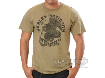"Ricks Harley-Davidson ""Fierce Kingdom"" Dealer Herren Shirt 5L33-HH49"