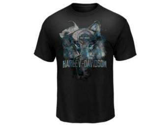 """""""LONE WOLF ADVENTURE"""" Dealer Herren Shirt 5L33-HHDC"""