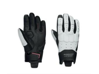 Motorrad Handschuhe Damen 98331-19EW Schwarz Weiß