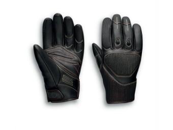 Motorrad Leder Handschuhe 98121-20EM Schwarz