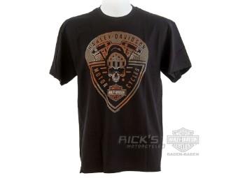 "Ricks Harley-Davidson ""Skull Tribe"" Dealer Men's T-Shirt 5L33-HHAF Tee"