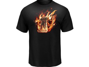 """TANK OF FIRE"" Dealer Herren T-Shirt 5L33-HHC9 Tee"