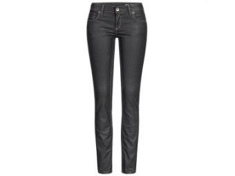 "Ladies ""The Black Diva"" Bikerjeans Black 2001 Motorcycle Trousers"