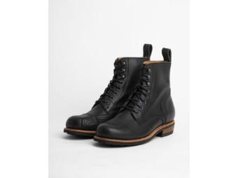 """Herren Boots """"Urban Rebel"""" S1024 Schwarz Motorradstiefel"""