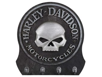 "Harley-Davidson Key hook rack ""Willie G. Skull"" HDL-15313"