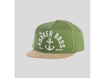 """Cap """"Bros Snapback"""" 910915 grün sand Einheitsgröße"""