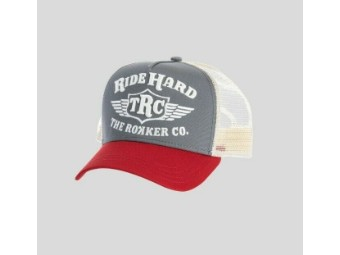 "Cap ""Hard Trukker"" 910618 red grey OneSize Snapback"
