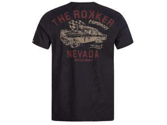 "T-Shirt ""Nevada"" Black C3009701 Cotton Tee"