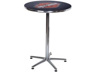 Classic Bar and Shield Bar Table HDL-12314 black chrome