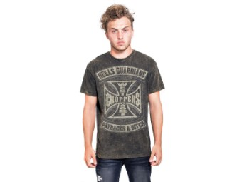 """""""Hells Guardians Marlite Oro"""" T-Shirt WCCTS132735BR Brown"""
