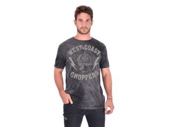 """Helmet Vintage Black"" T-Shirt WCCTS132737ZW Schwarz"