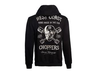 """""""High Speed"""" Zip Hoodie WCCHD185ZW Black Sweatshirt Hood"""
