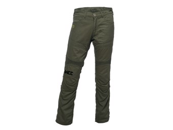 """Riding Pants"" WCCBR118GN32 motorcycle pants Olive Green"