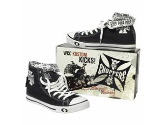 """WARRIOR SHOE"" WCCSH001ZW Men's Sneaker Black Shoe"