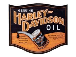 Harley-Davidson® Genuine Oil Can Pub Sign