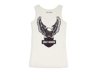 Tank Top Eagle Graphic Ribbed