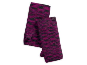 Fingerless Magenta Purple Handschuhe