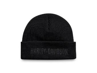 Cuffed Mütze Black