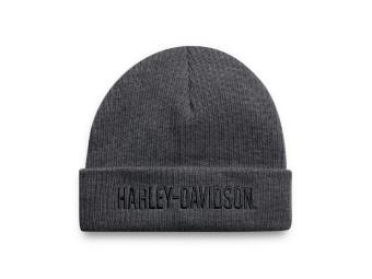 Cuffed Mütze Dark Grey