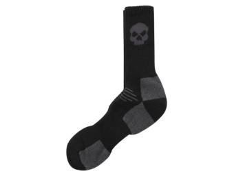 Willie G Skull Crew Socken