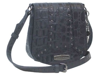Croco Leder Tasche