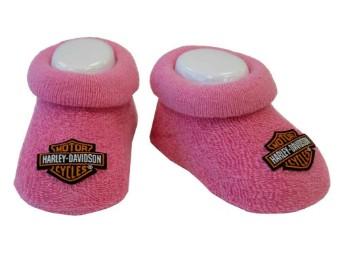 Baby Girls Stretch Söckchen Pink
