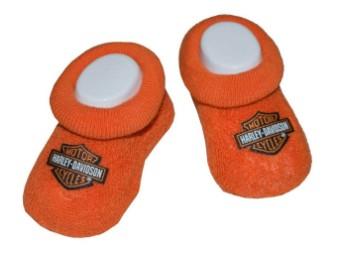 Baby Girls Stretch Söckchen Orange