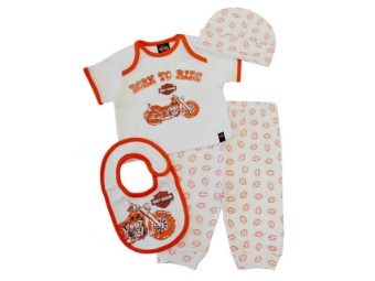 Baby Boys' 4 Piece Boxed Gift Set