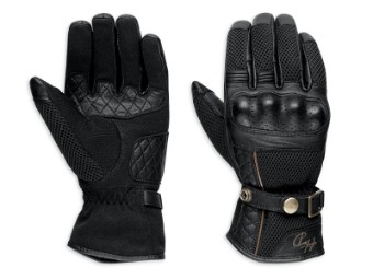 Cowley Mesh Leather Handschuhe