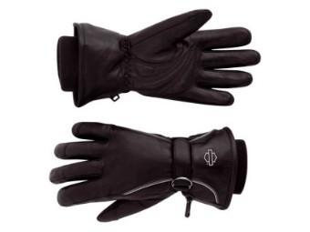 Windshielder Gauntlet Leather Riding Handschuhe