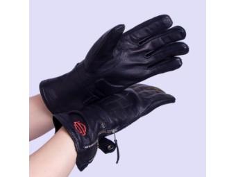 Leather Touchscreen Tech Gauntlet Riding Handschuhe