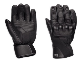 Authority Waterproof Leather & Textil Handschuhe