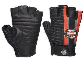 Mixed Media Fingerless Handschuhe