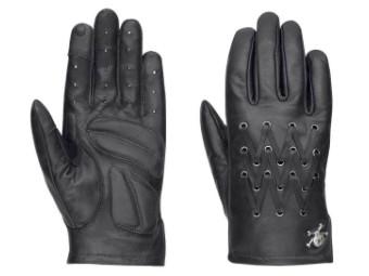 Street Ride Full-Finger Leather Handschuhe