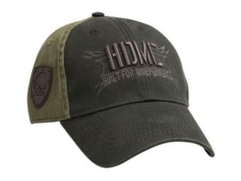 Military Skull Embroidered HDMC Baseball Cap
