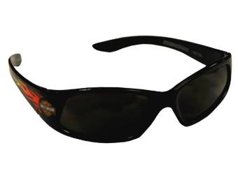 Kids Black-Flames Performance Sonnenbrille