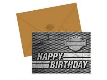 Geburtstagskarte Bar & Shield 12er-Set