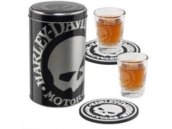 Willi G Skull Shot Gläser Set